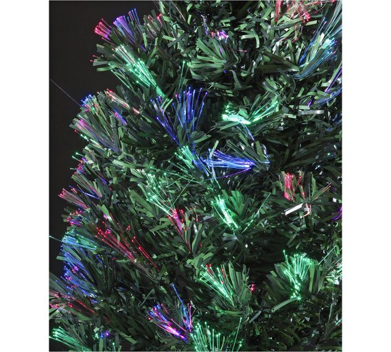 Buy 4ft Fibre Optic Christmas Tree Black At Argos Co Uk Your  - Fibre Optic Christmas Tree Uk Only