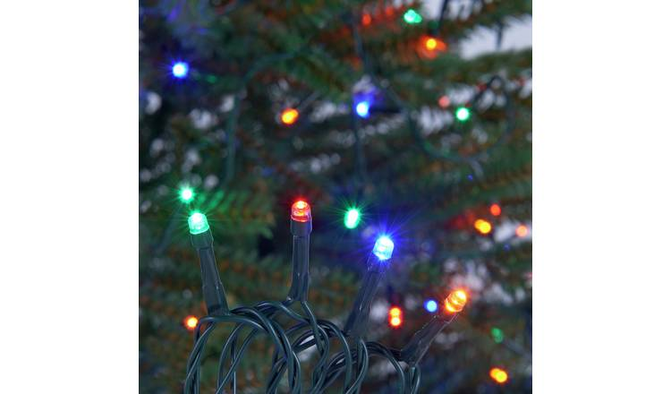 Buy Argos Home 160 Multicoloured Multi Function Led Lights 14m Fairy Lights And String Lights Argos