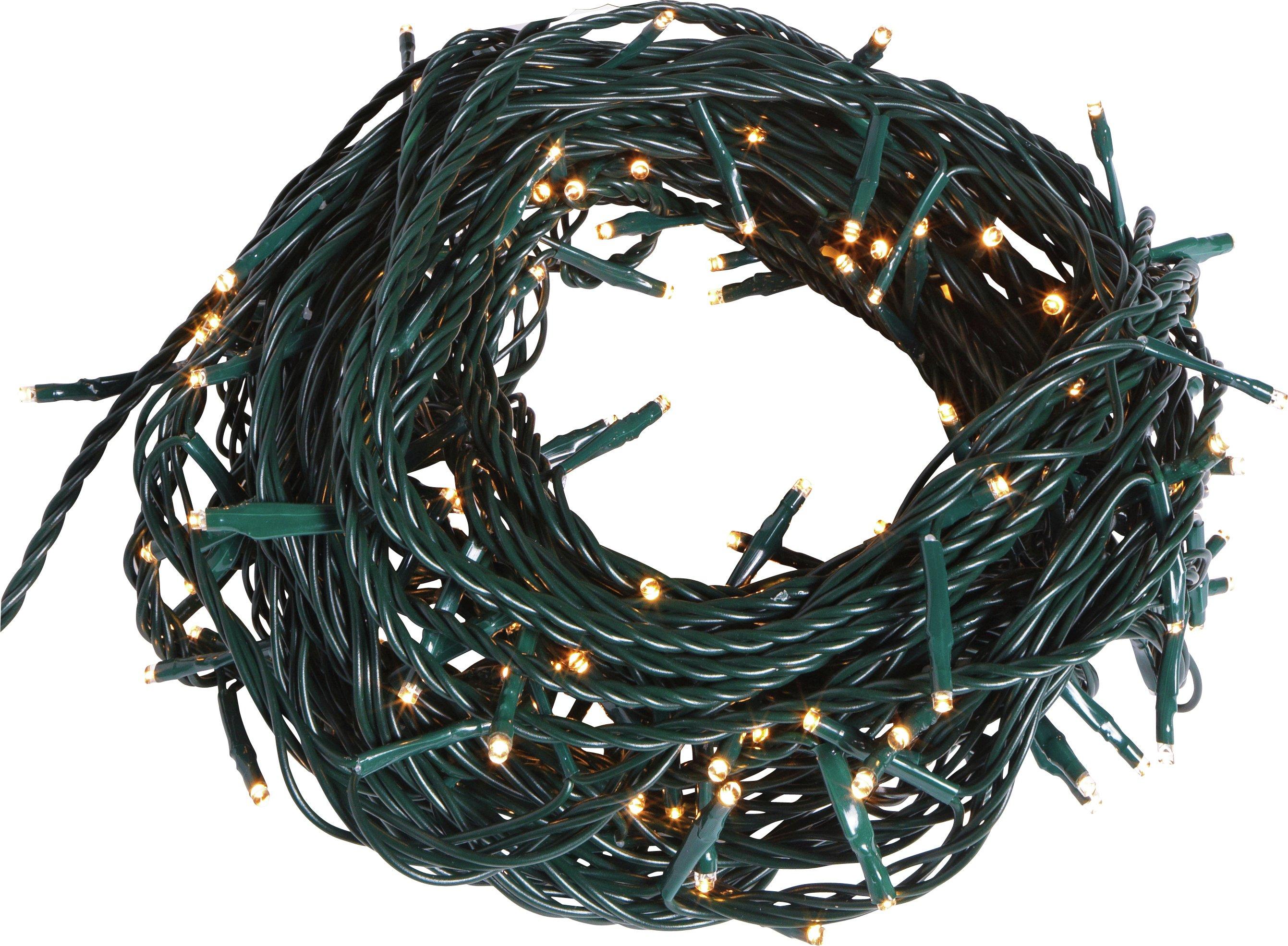 160 Multi-Function LED Christmas Tree Lights - Warm White