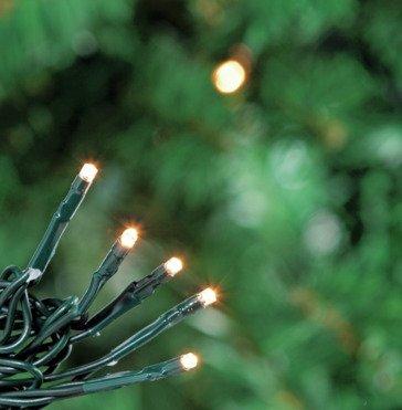 80 Multi-Function LED Christmas Tree Lights - Warm White