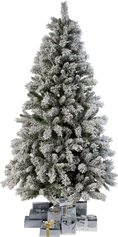 7ft Slimline Pre Lit Christmas Tree