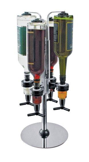 4 Bottle Revolving Optic Stand