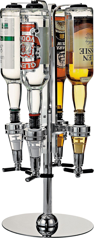 Image of 4 Bottle Revolving Optic Stand