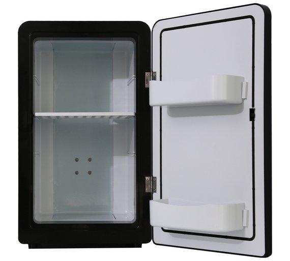 New 16 Litre Black Mini Fridge Bedroom Or Under Your Desk