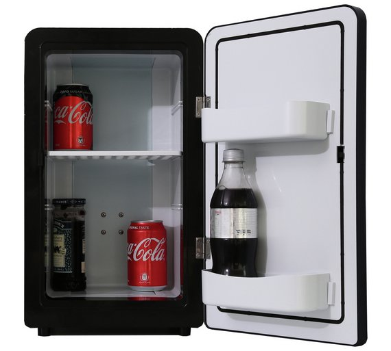 16 Litre Black Mini Fridge Bedroom Or Under Your Desk