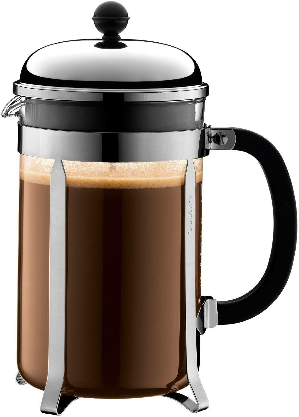 Image of Bodum - Chambord Coffee Maker 12 Cup - Clear