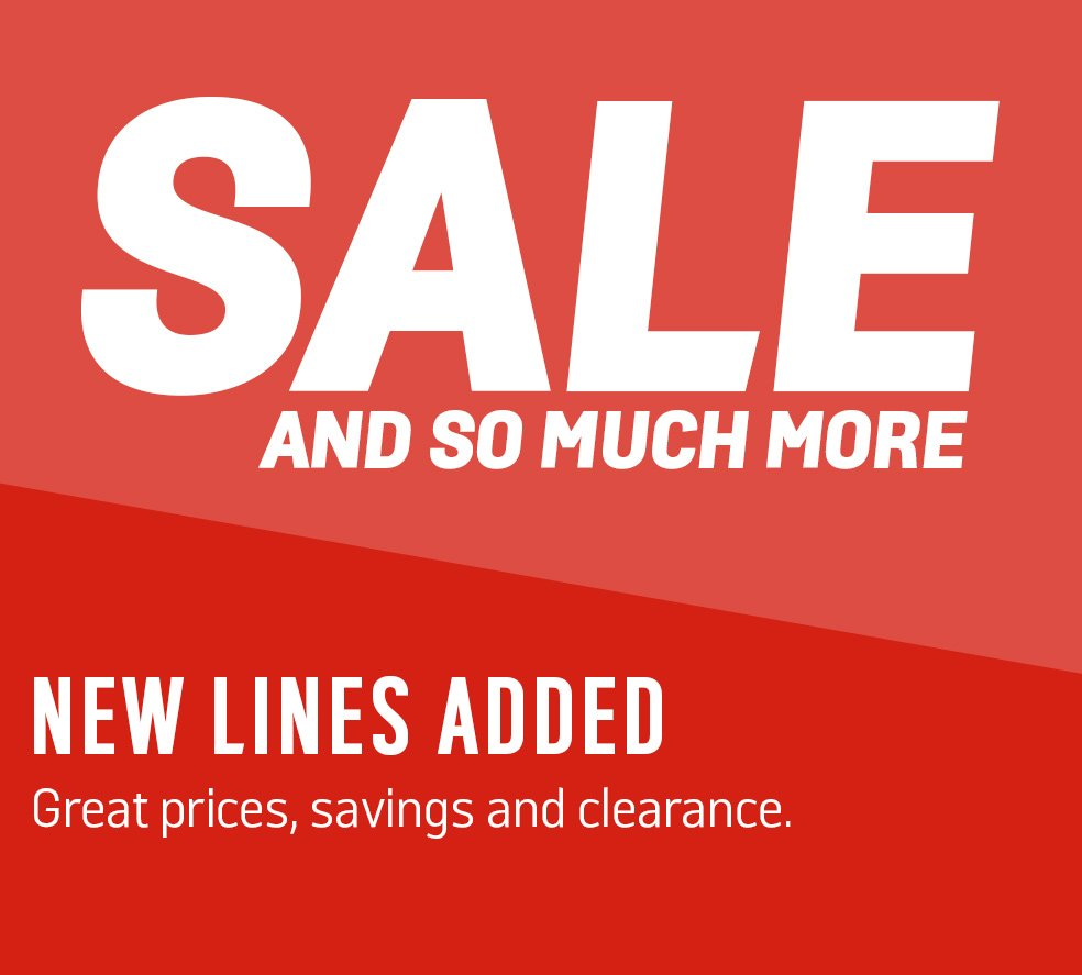 6a4aca9cee25 Sale and so much more. New lines added. Great prices, savings and clearance
