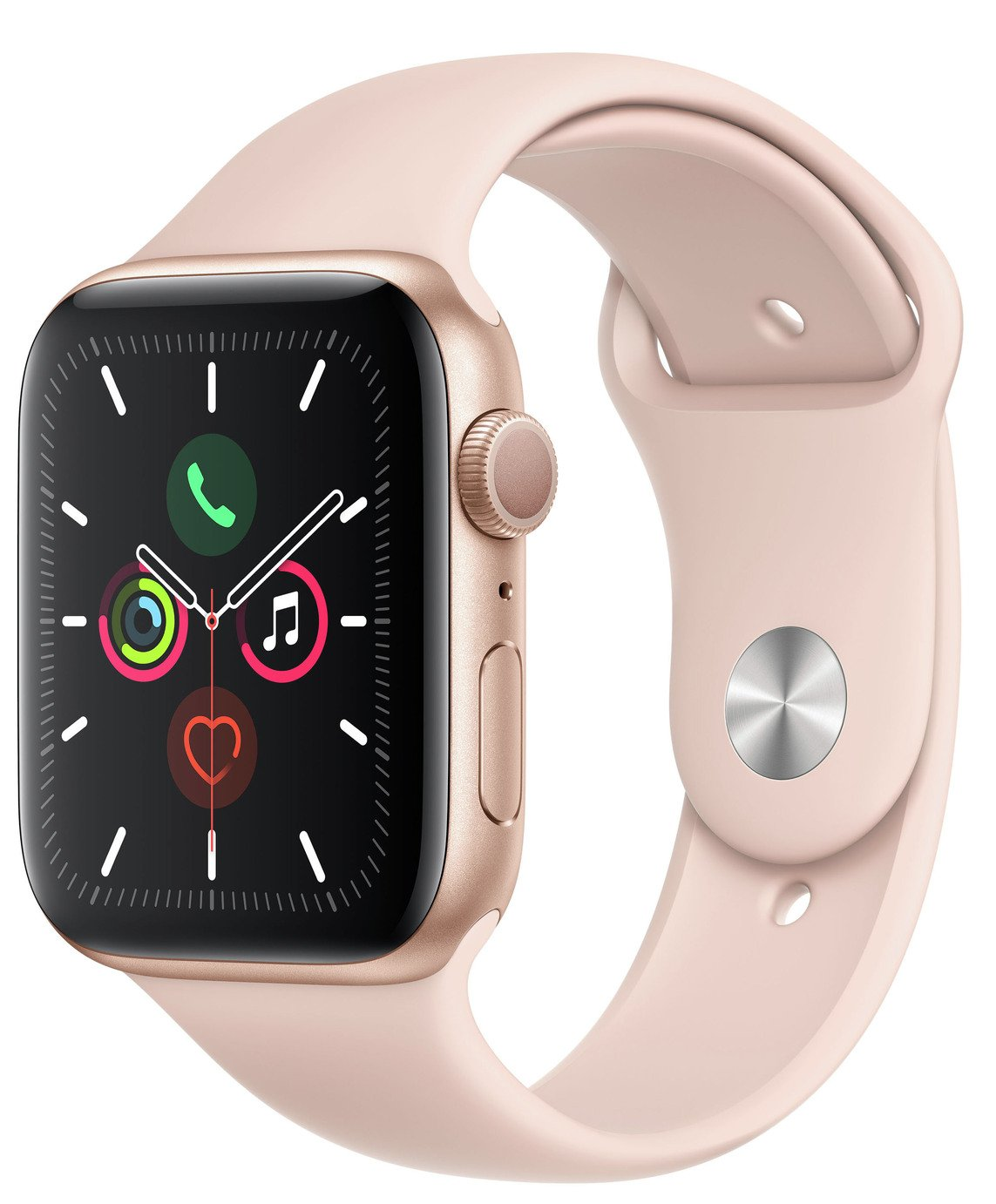 Apple Watch S5 GPS 44mm Gold Alu/Pink Band