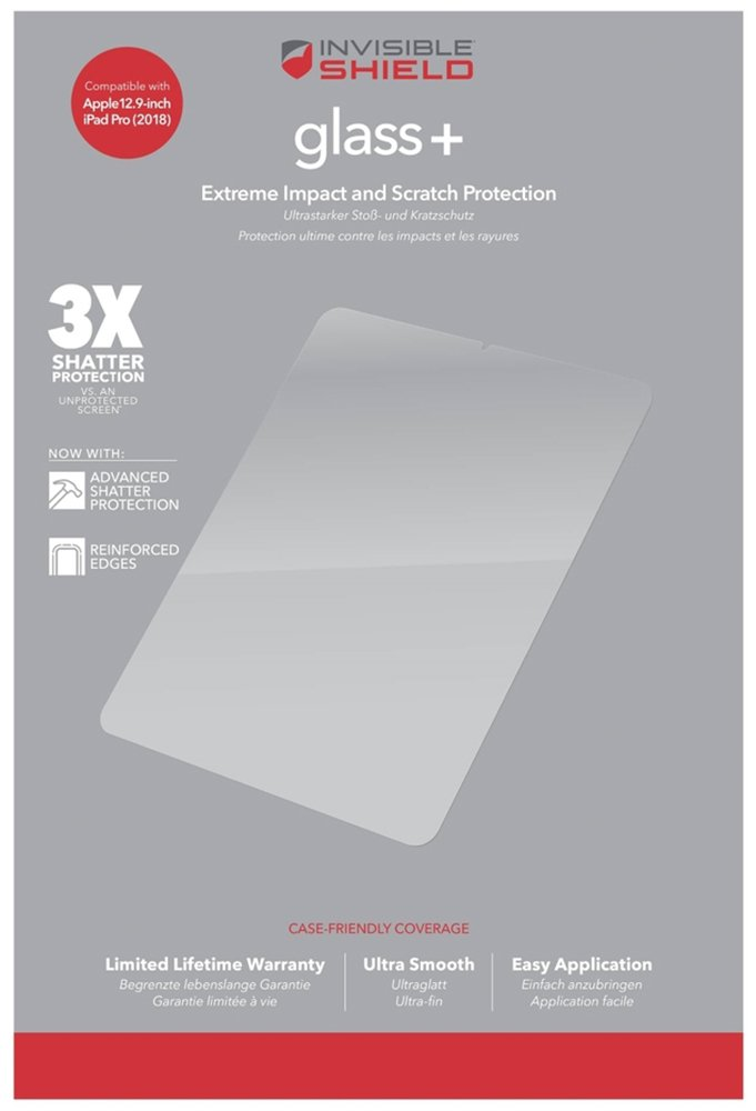 Zagg InvisibleShield Apple iPad Pro 12.9 Screen Protector