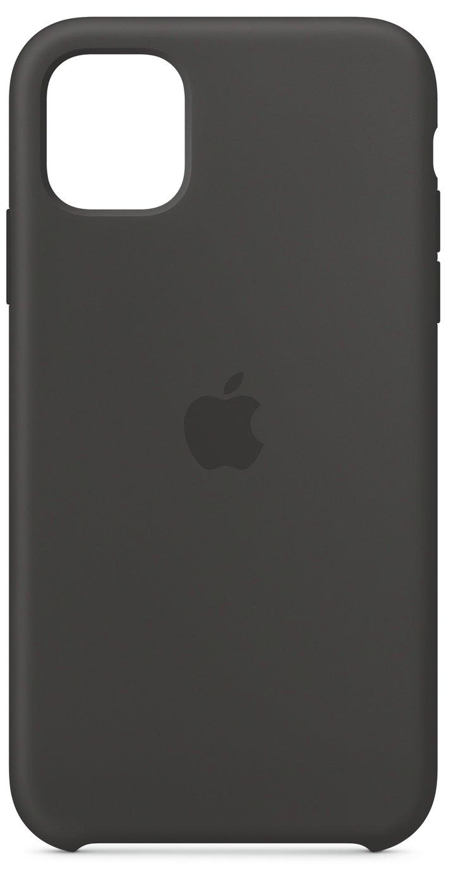 Apple iPhone 11 Silicone Phone Case - Black