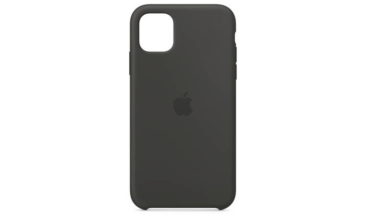 Apple iPhone 11 Silicone Phone Case - Black