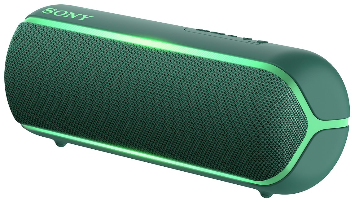 Sony SRS-XB22 Portable Wireless Speaker - Green