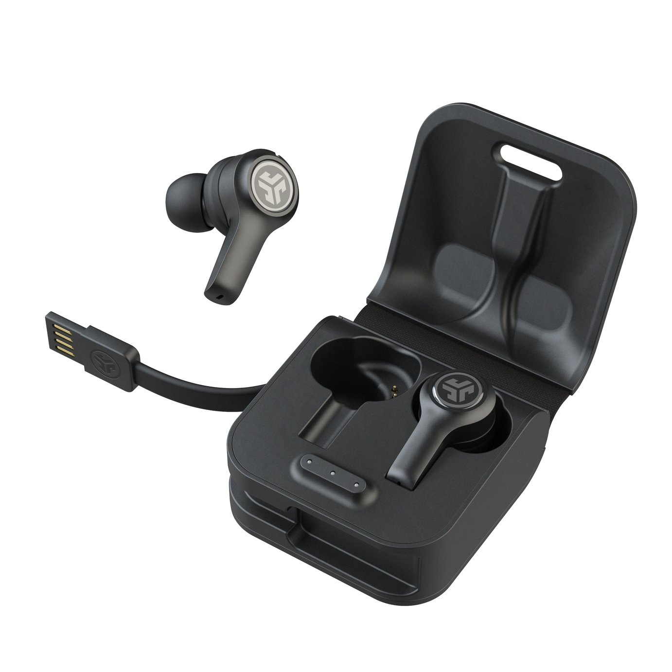 JLAB JBuds Air Executive True - Wireless Headphones - Black