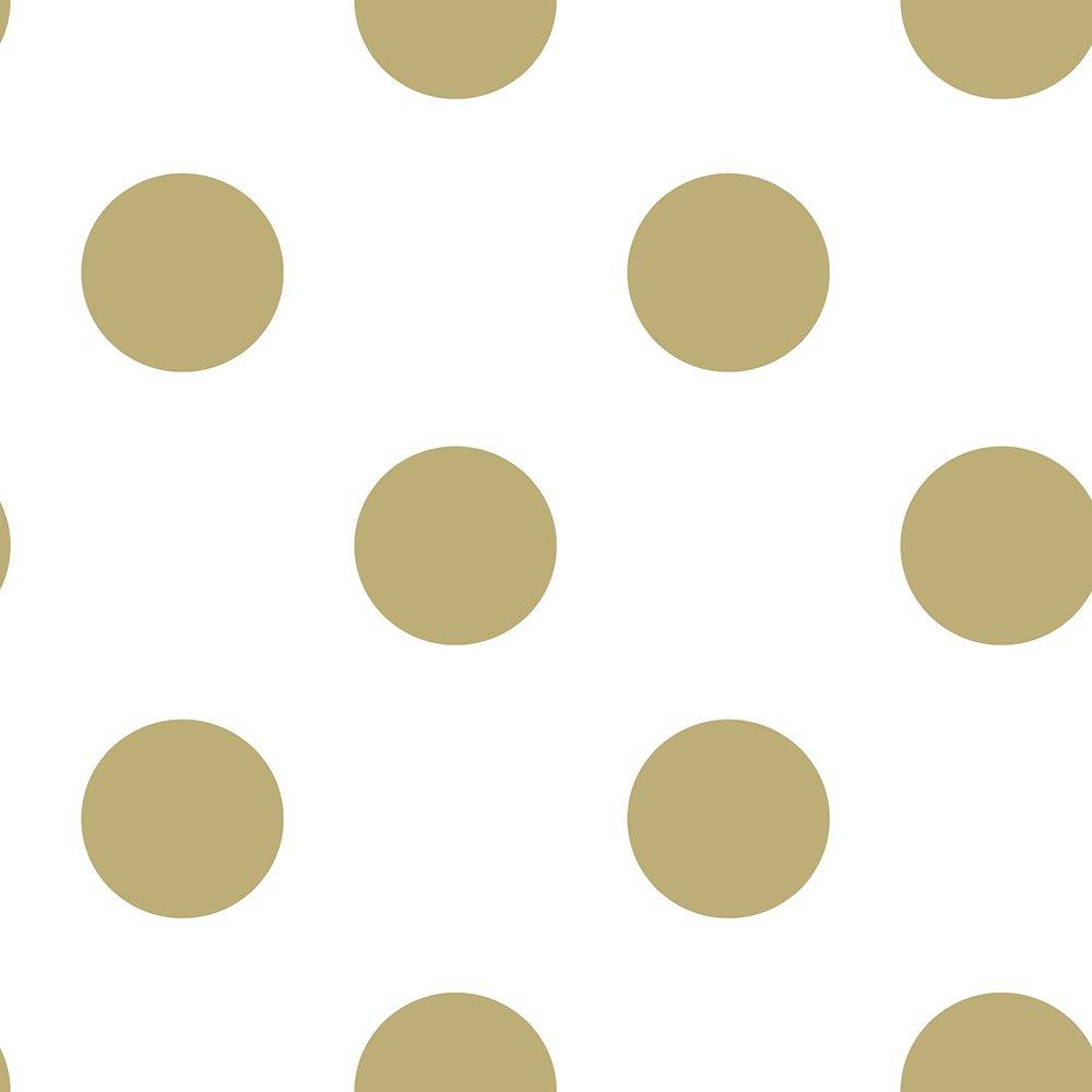 Superfresco Easy Dotty Gold Wallpaper
