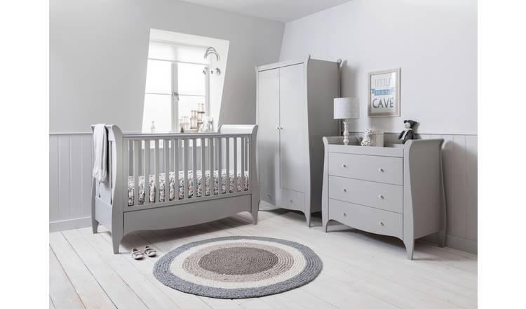 newest d640d 57542 Buy Tutti Bambini Roma 3 Piece Room Set - Dove Grey | Nursery furniture  sets | Argos