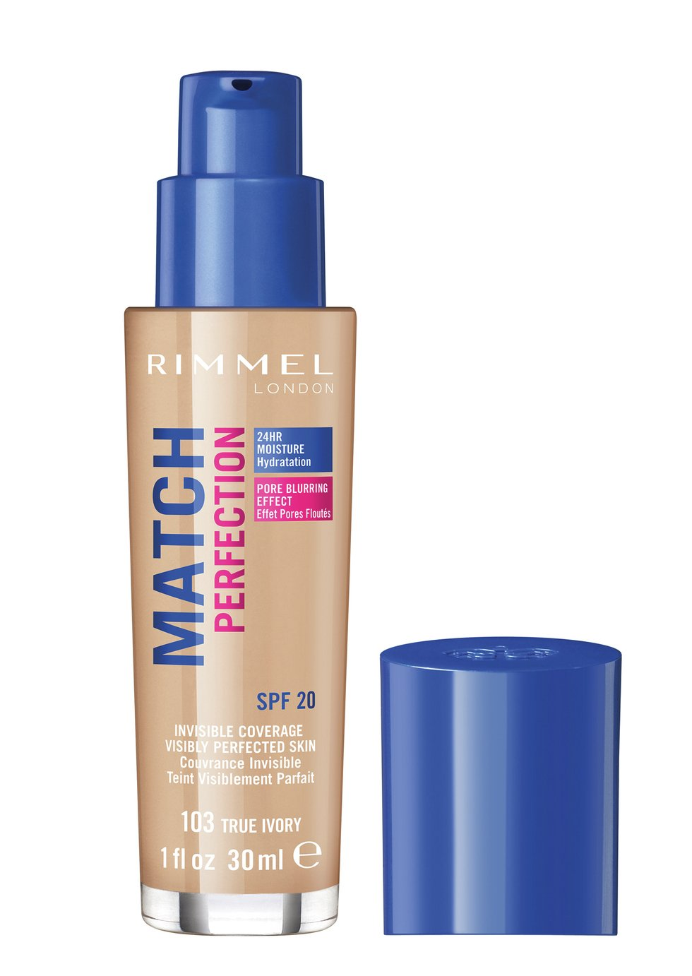 Rimmel Match Perfection Foundation - True Ivory