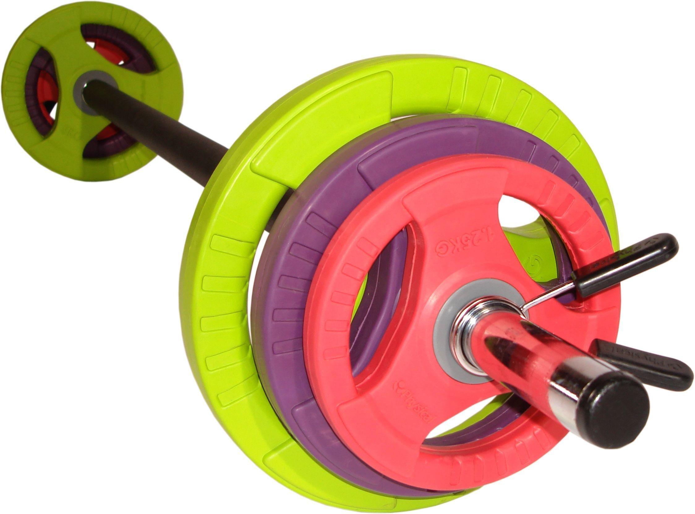 physical-company-pump-set-black-bar-coloured-discs