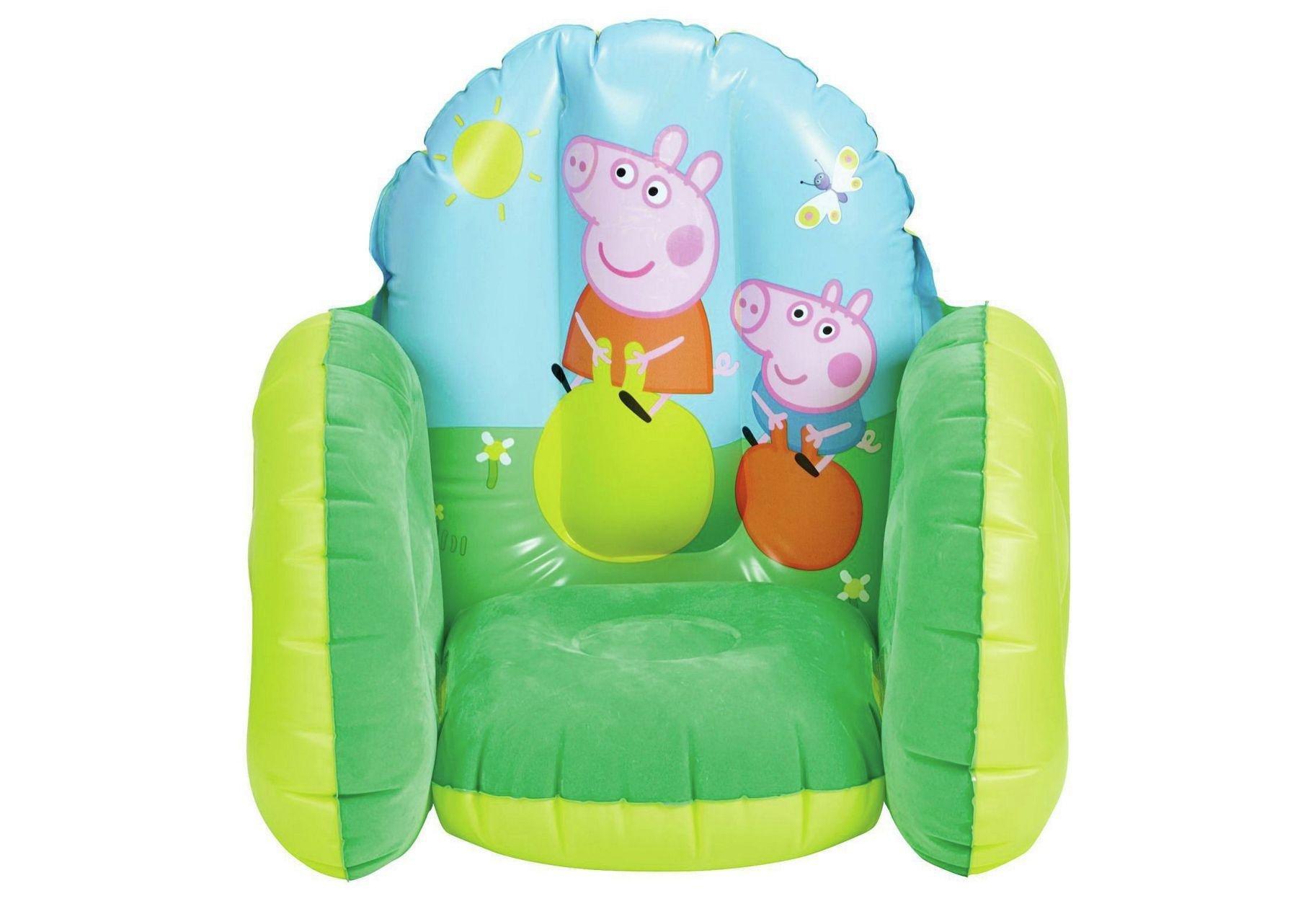 Image of Peppa Pig Flocked Chair