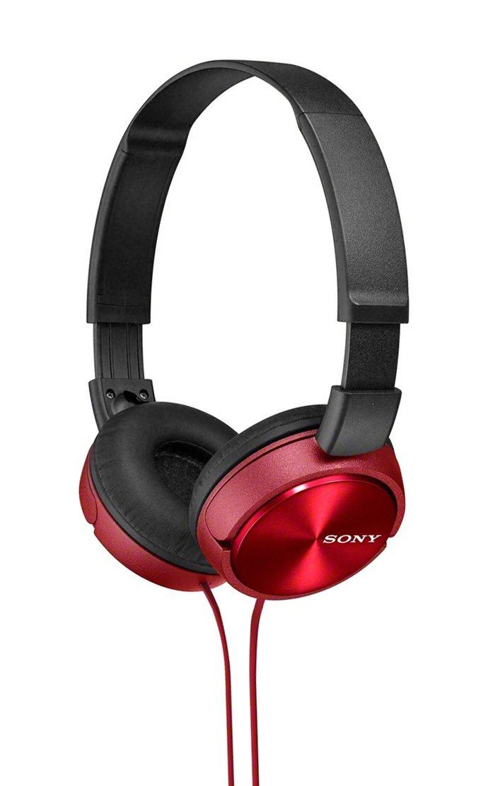 Sony Sony - ZX310 On-Ear Headphones - Red