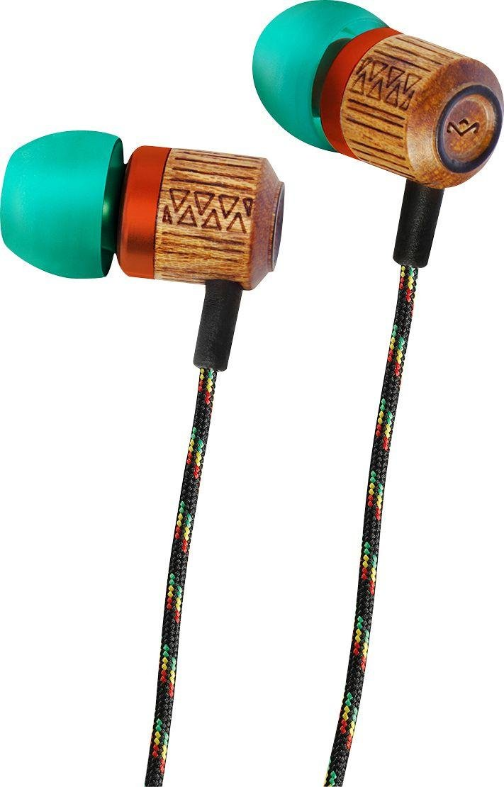 House Of Marley House of Marley Chant In-Ear Headphones - Blue.