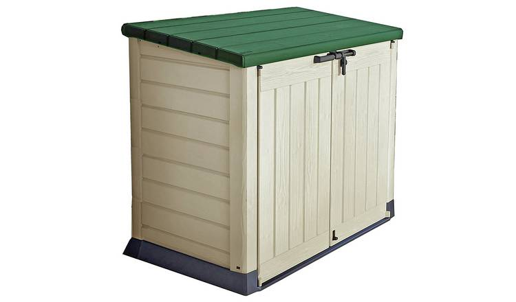 Keter Store It Out Max 1200L Storage Shed - Beige/Green