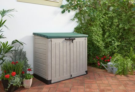 Image of the Keter Plastic Store It Out Garden Storage Box
