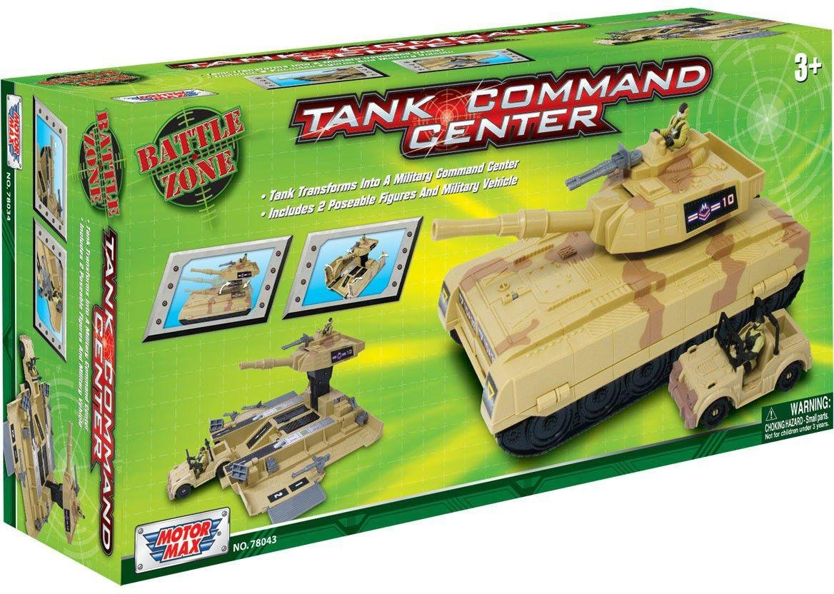 Image of Battle Zone Series Tank Command Centre Playset.