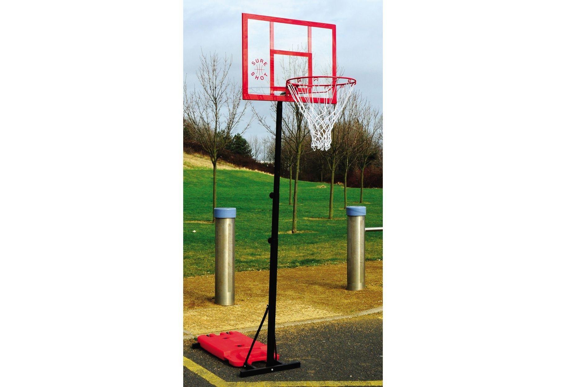 Sure Shot Easishot Portable Basketball Unit with Backboard.