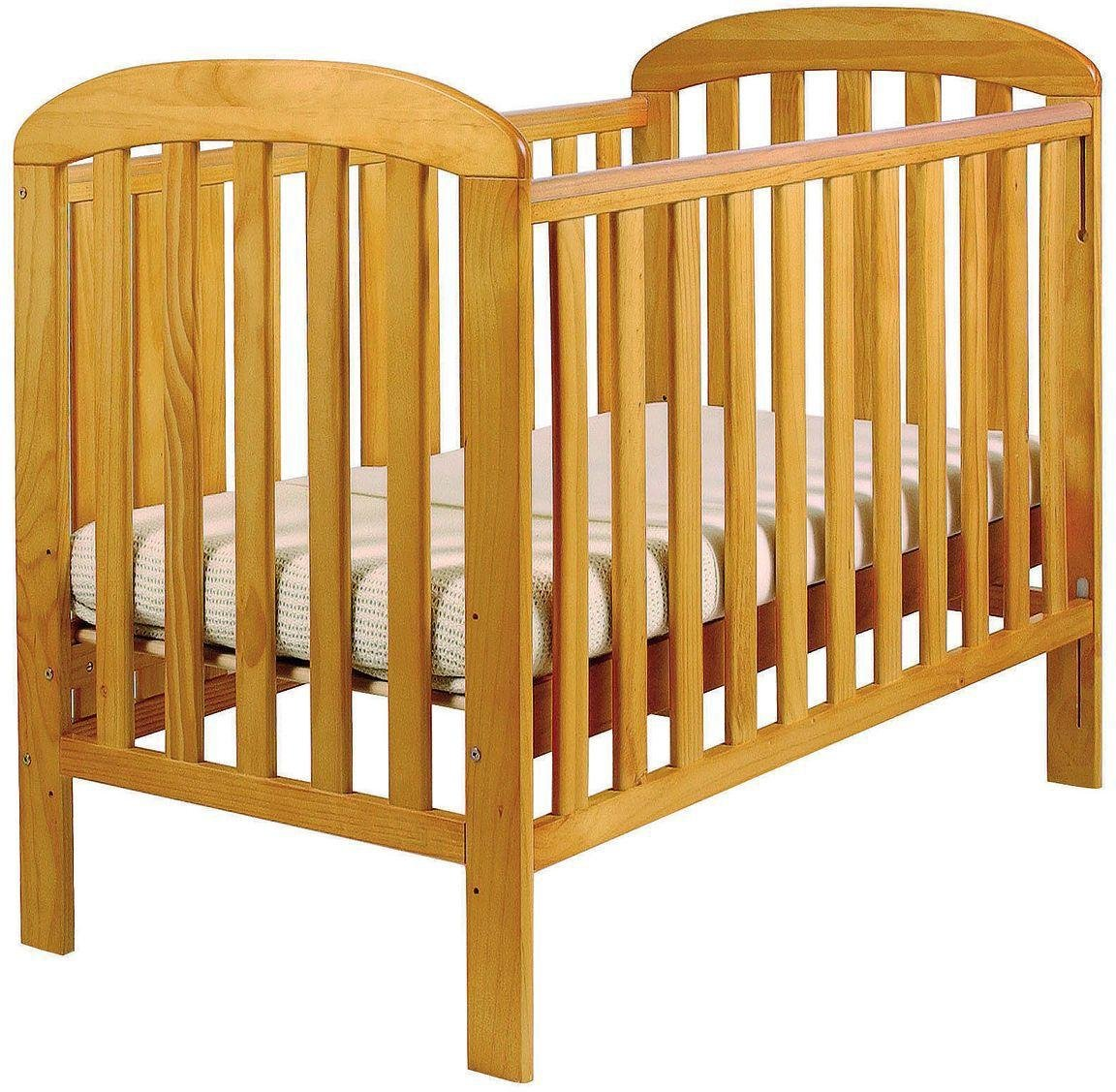 East Coast Nursery Anna Dropside Cot - Antique