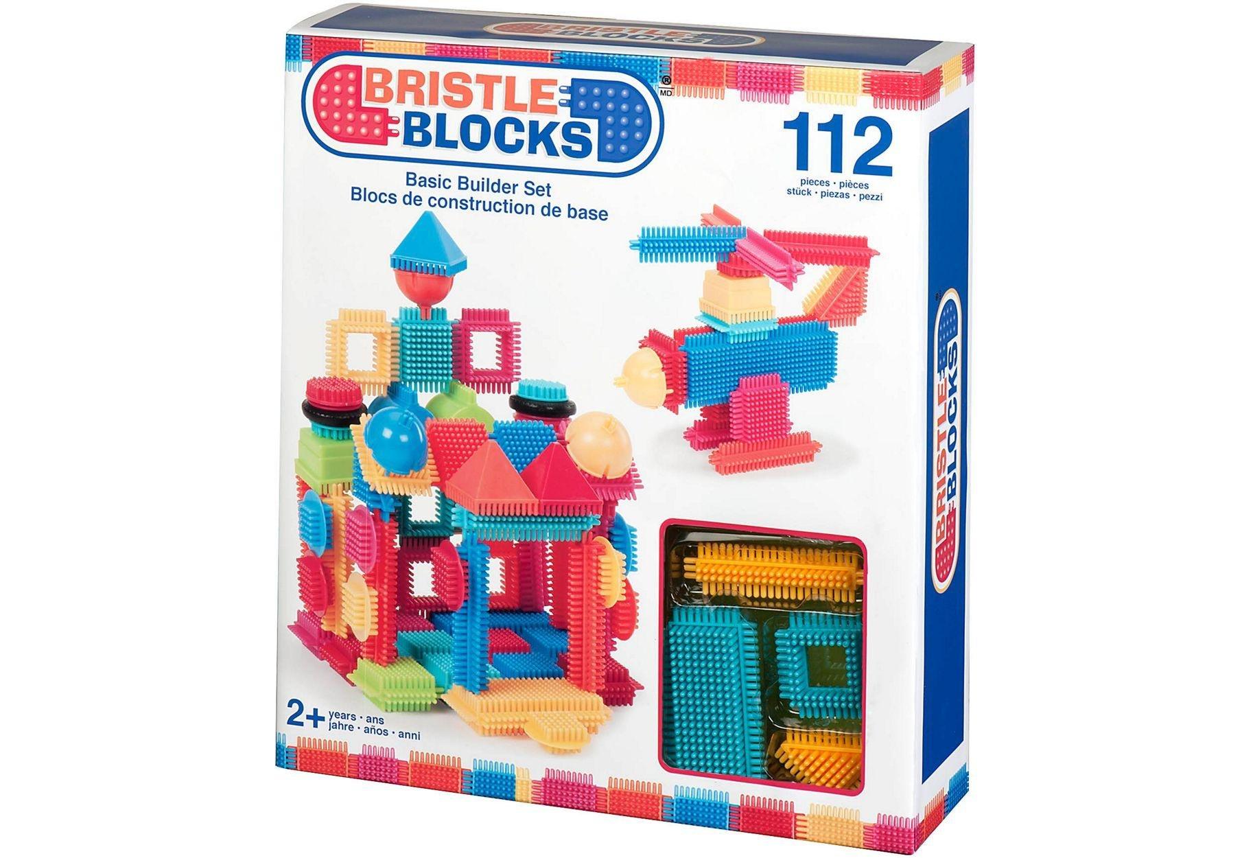 Image of Bristle Blocks Basic Builder Box - 112 Piece.