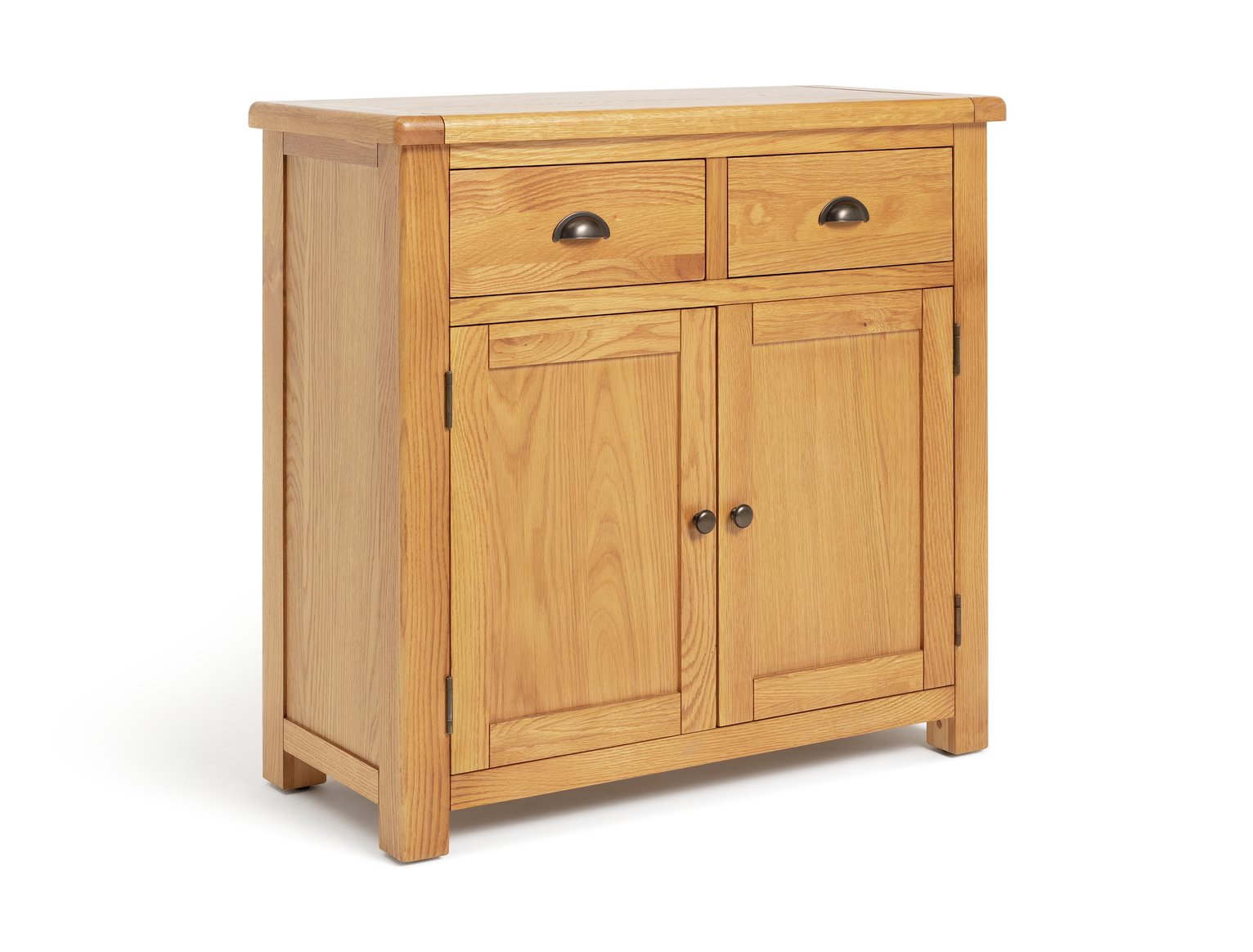 Argos Home Kent Small Solid Oak & Oak Veneer Sideboard