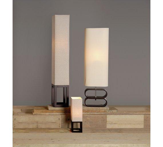 Buy argos home suko linen floor table lamp cream floor lamps argos home suko linen floor table lamp cream aloadofball Image collections