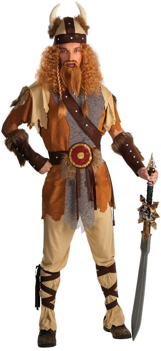 Image of Adult Viking Warrior Costume.