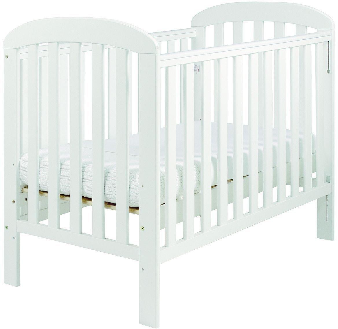 East Coast Nursery Anna Dropside Cot - White