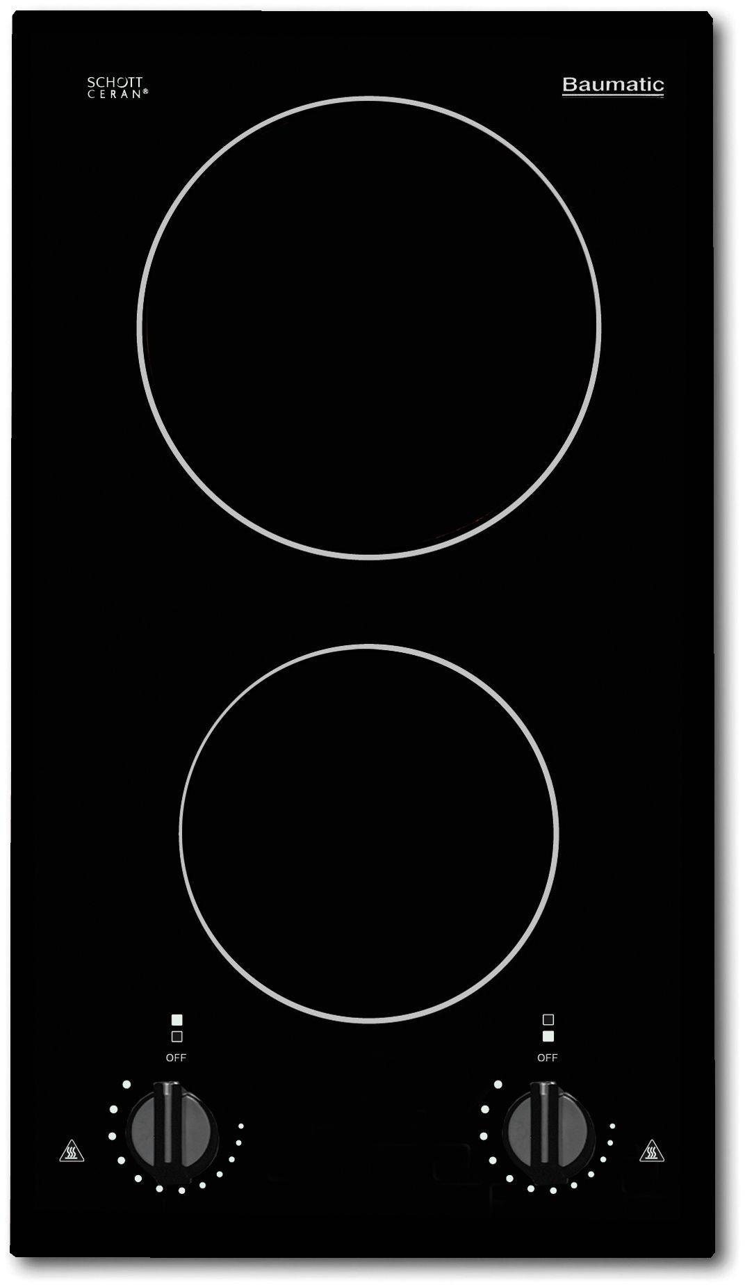 Image of Baumatic BHC300 Ceramic Electric Hob - Black.
