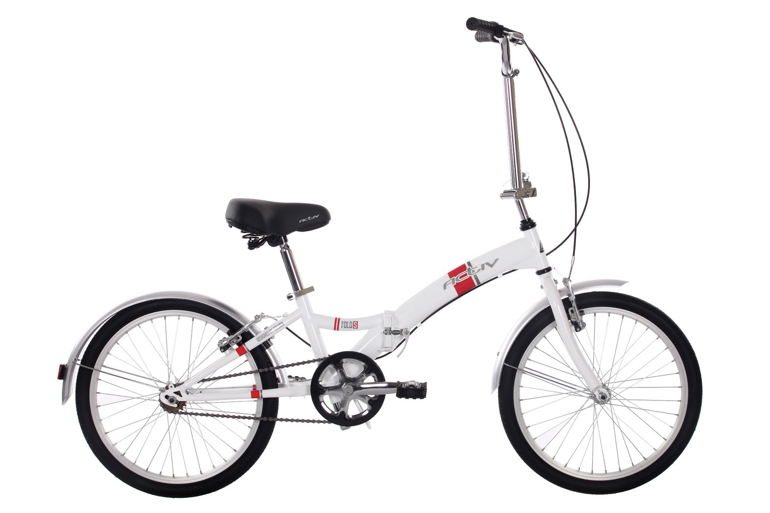 Image of Activ - Fold-S Folder Steel Folding - Bike - Unisex