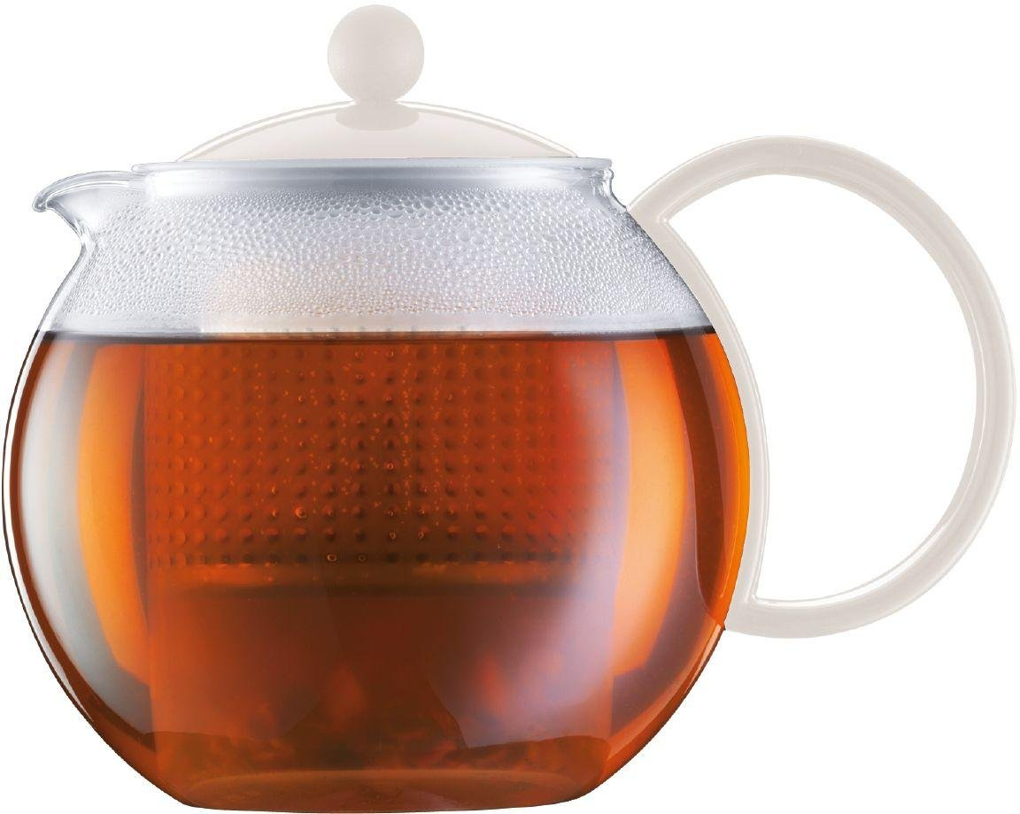 Image of Bodum - Assam Tea Press - White