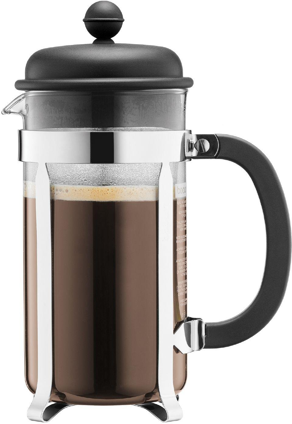 Bodum Caffettiera 8 Cup Coffee Maker  - Black