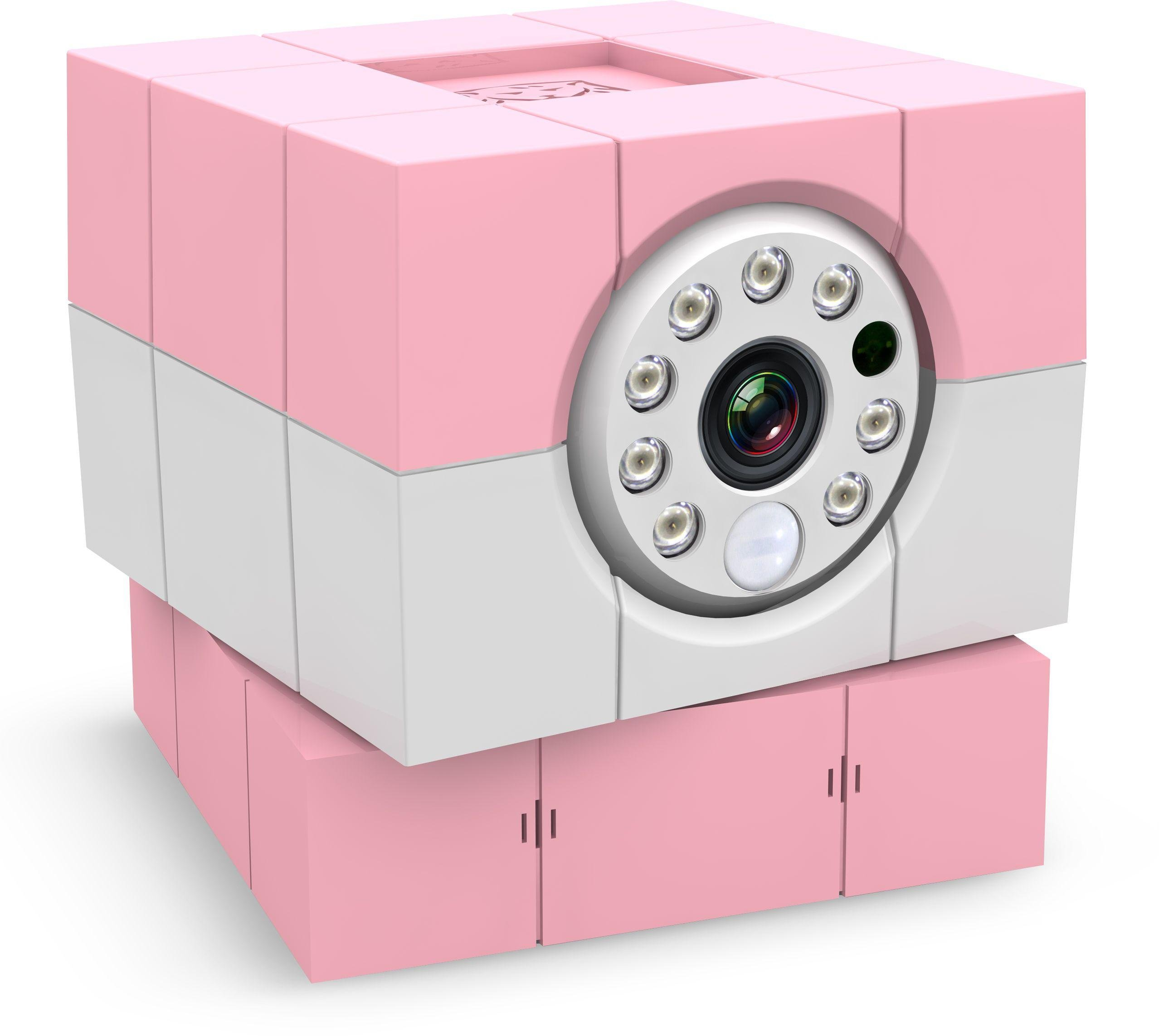 Image of Amaryllo iBabi HD360 Wireless Video Baby Monitor - Pink