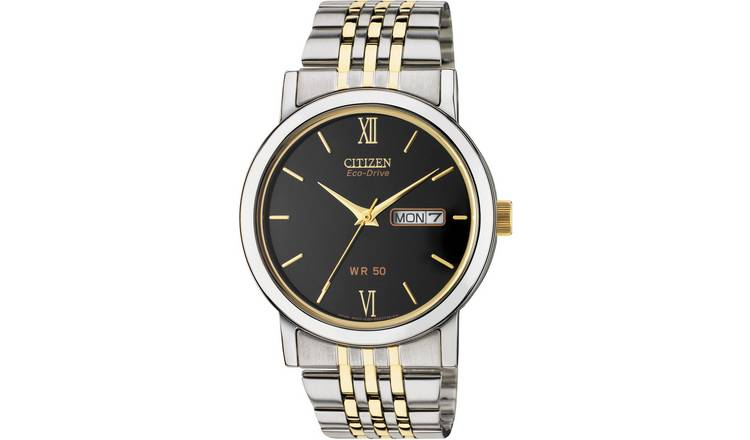 Citizen Eco-Drive Men's Two-Tone Stainless Steel Watch