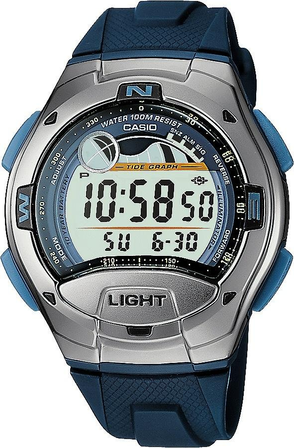 Casio Men's Blue Resin Strap Sports Graph Watch