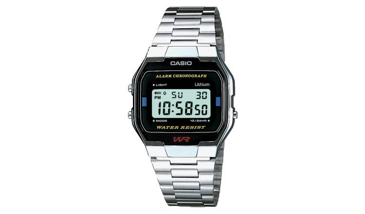 Casio Men's  Chronograph Silver Stainless Steel Watch
