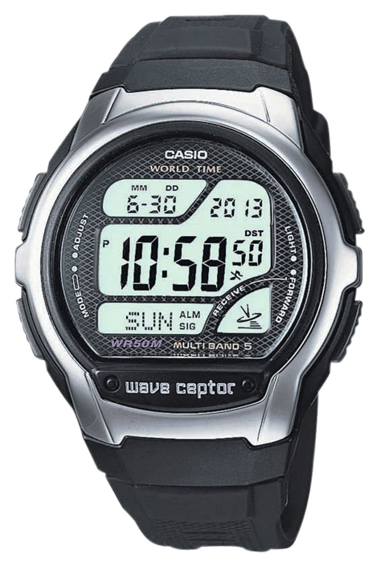 Casio Men's Black Resin Strap Digital LCD Watch