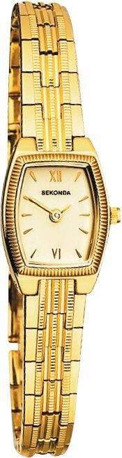 Sekonda Ladies Gold Colour Metal Bracelet Watch