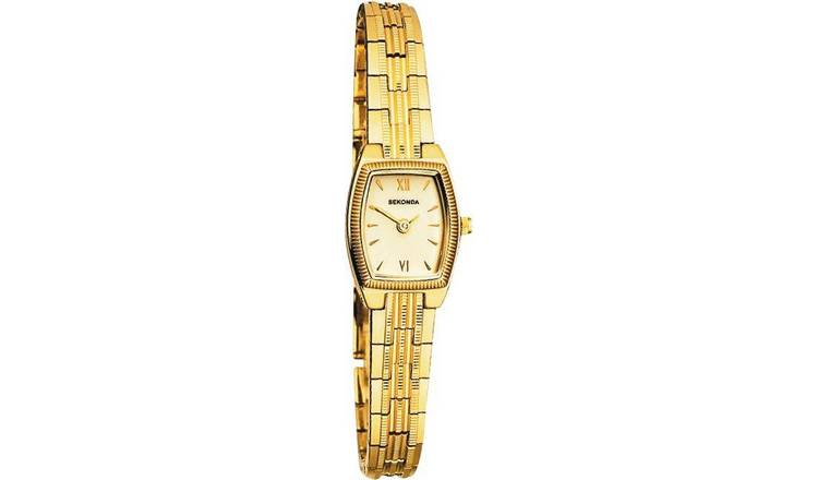 Sekonda Ladies Gold Colour Metal Bracelet Watch
