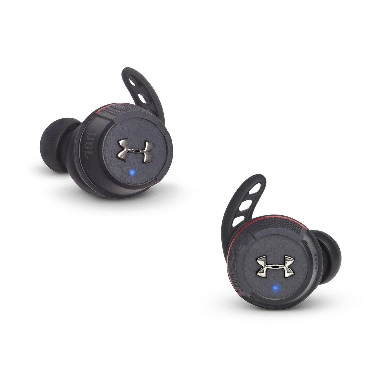 JBL Under Armour Flash In-Ear True Wireless Headphones-Black