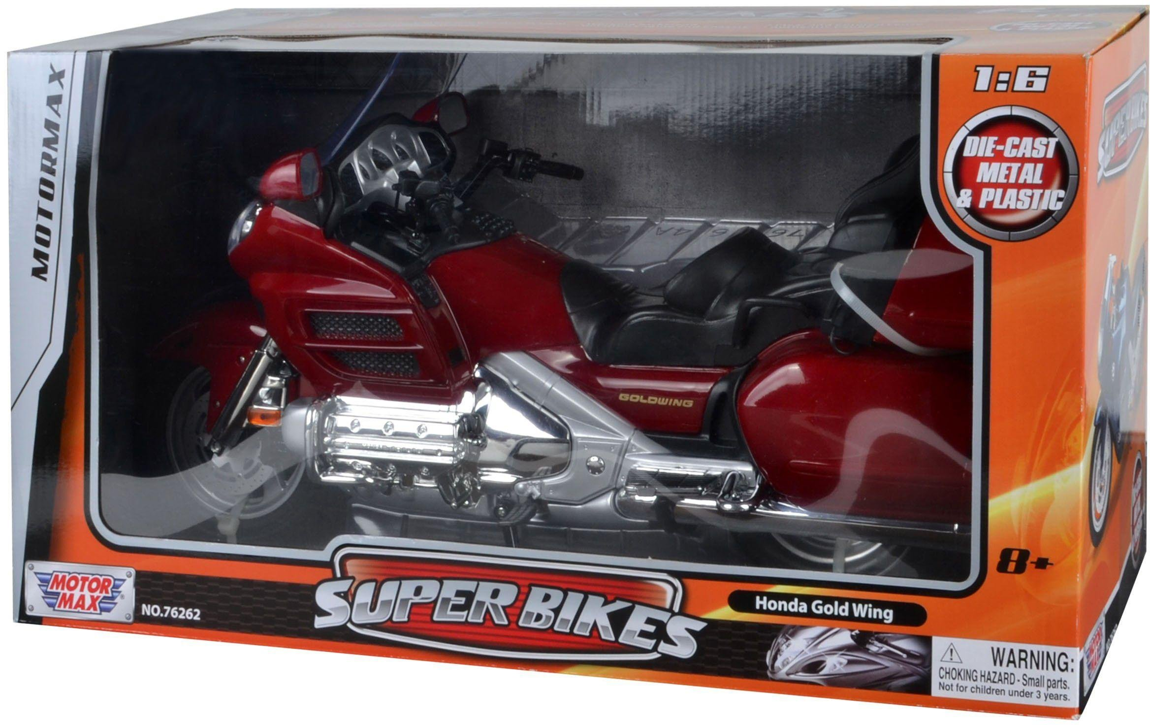 Image of Honda - Gold Wing Super Bike 1:6 Diecast - Model.