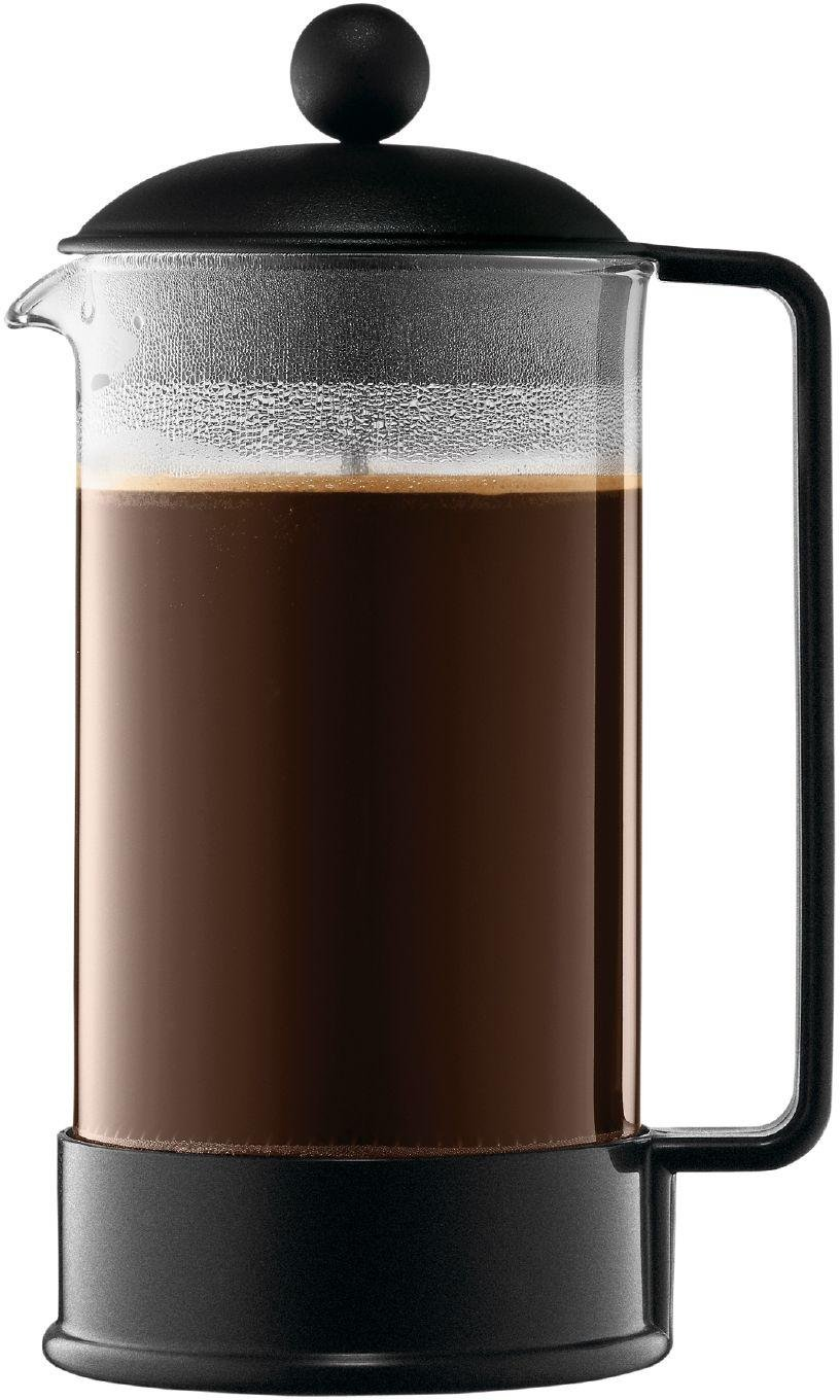 Bodum Brazil  8 Cup Coffee Maker- Black