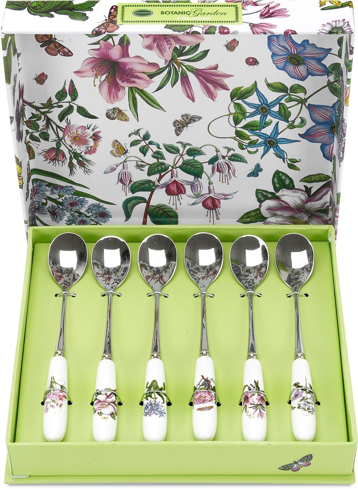 Image of Botanic Garden Set of 6 Teaspoons.