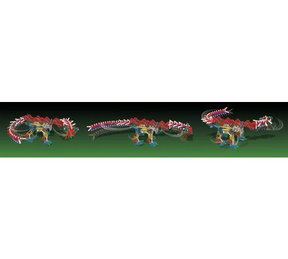 K/'NEX K/'Nexosaurus Rex Building Motorised For Exciting Stomping Movement Set